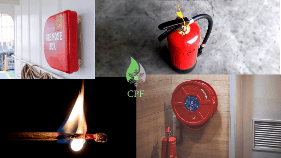 Two Kinds of Fire Safety Equipment