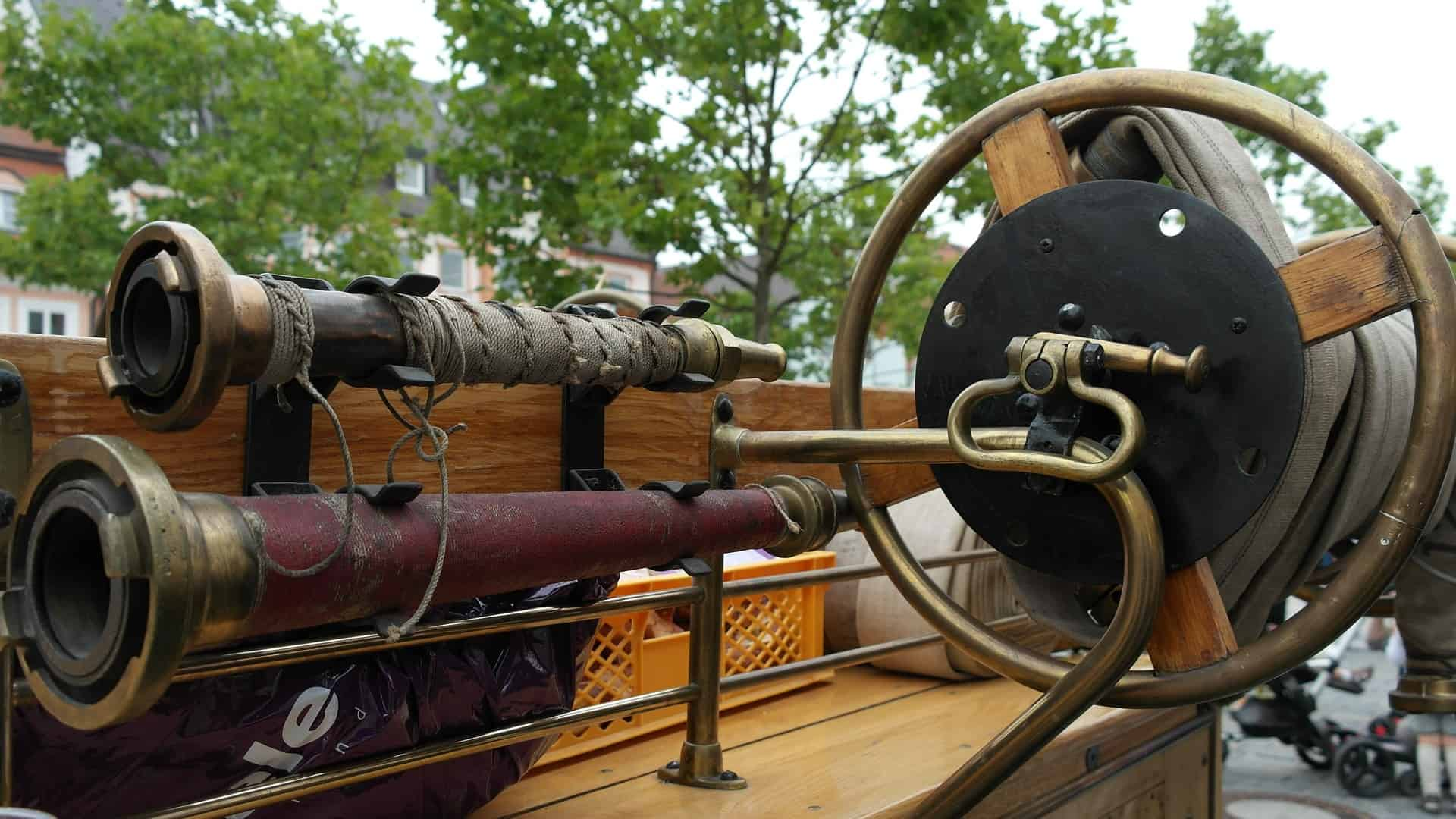 A Brief History of Fire Hoses