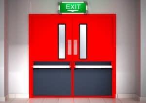 Doctors, Nurses and Fire Resistant Doors.