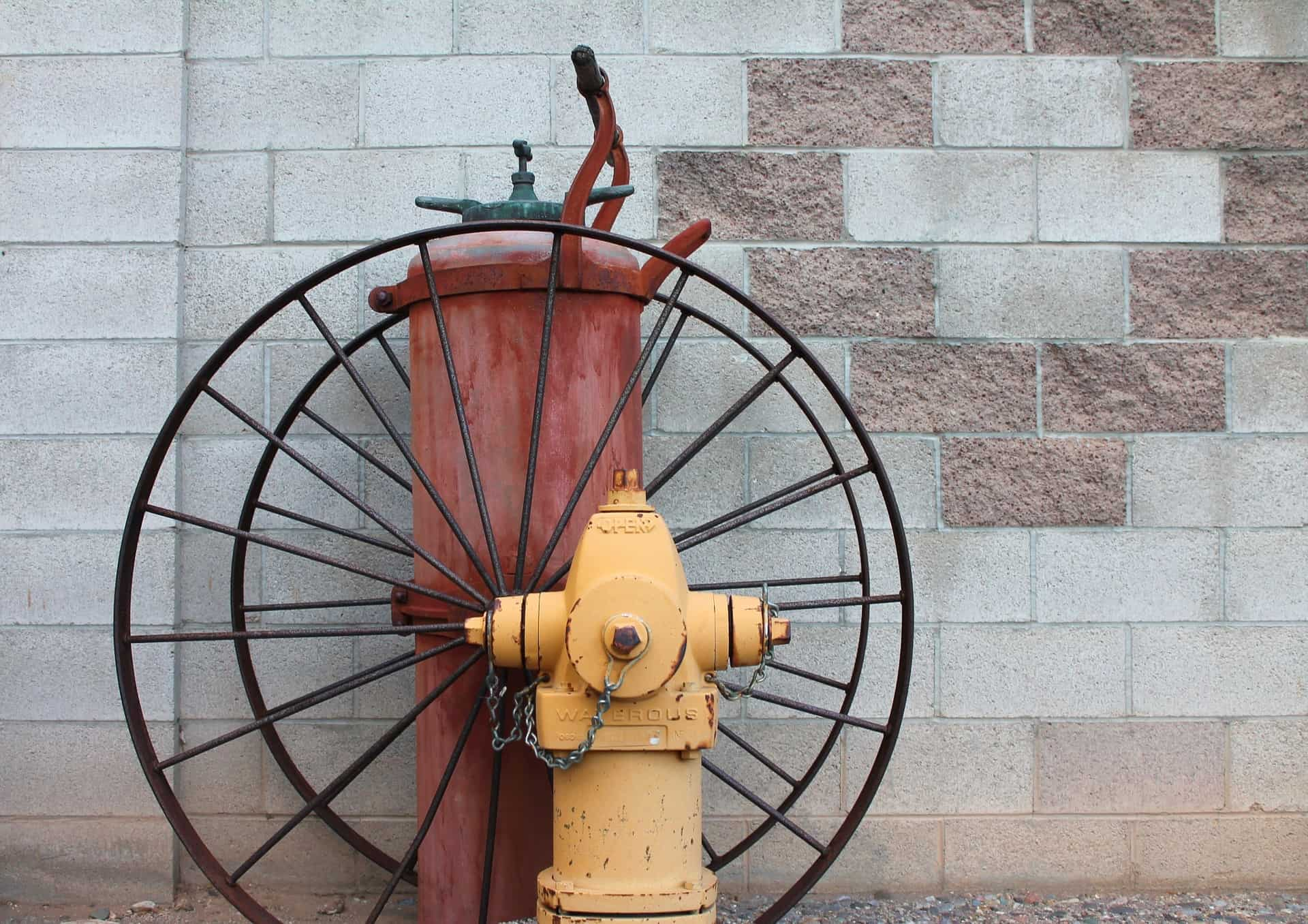 old style fire hydrant