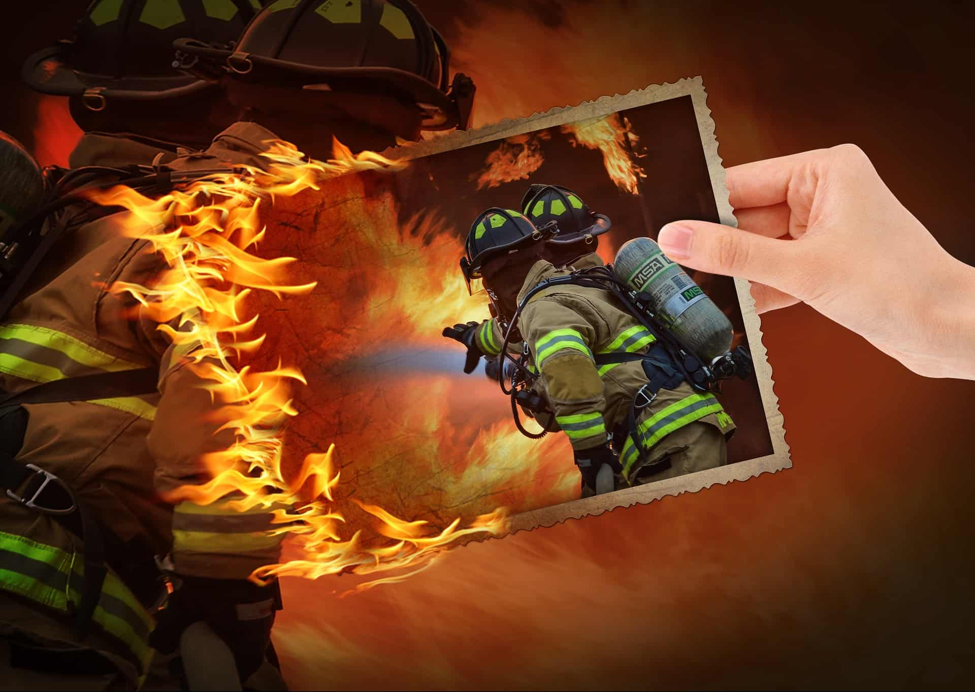 Is there a difference between fire protection and fire suppression?