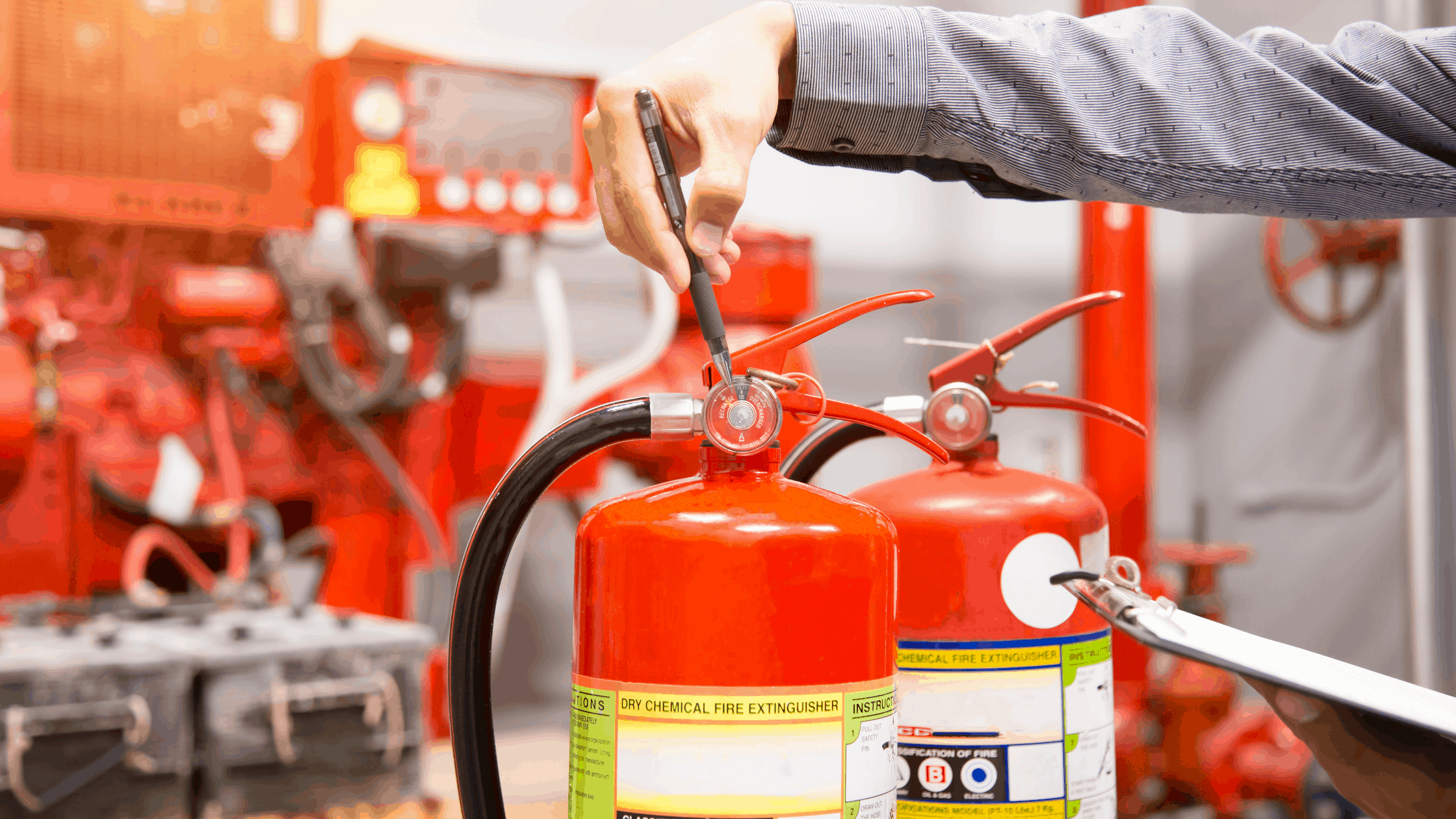 Simple Checklist for Fire Inspection