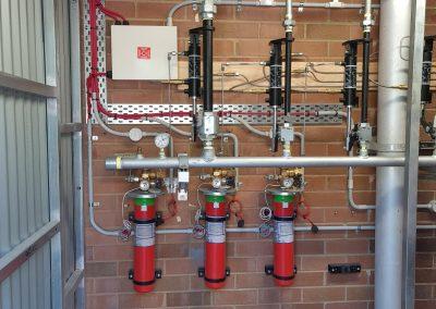 dry fire sprinkler system