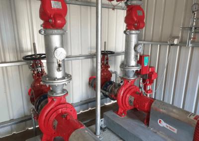 dual pumps set install