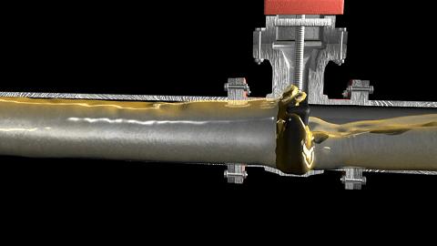 pressure surge in fire sprinkler pipelines