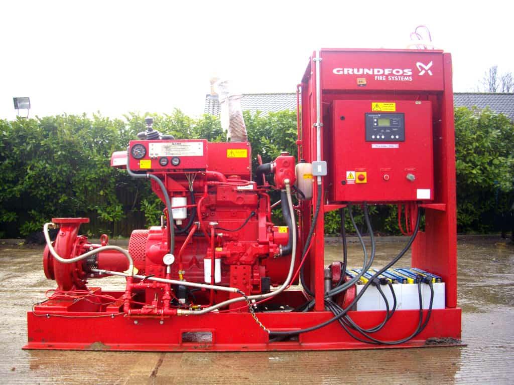 grundfos fire pumpset repairs